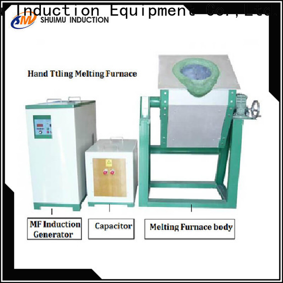 custom induction furnace supplier company for metal melting
