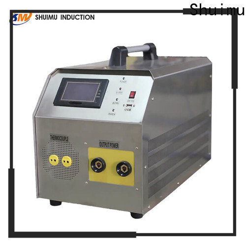 frequency induction forging machine supply for fluid material