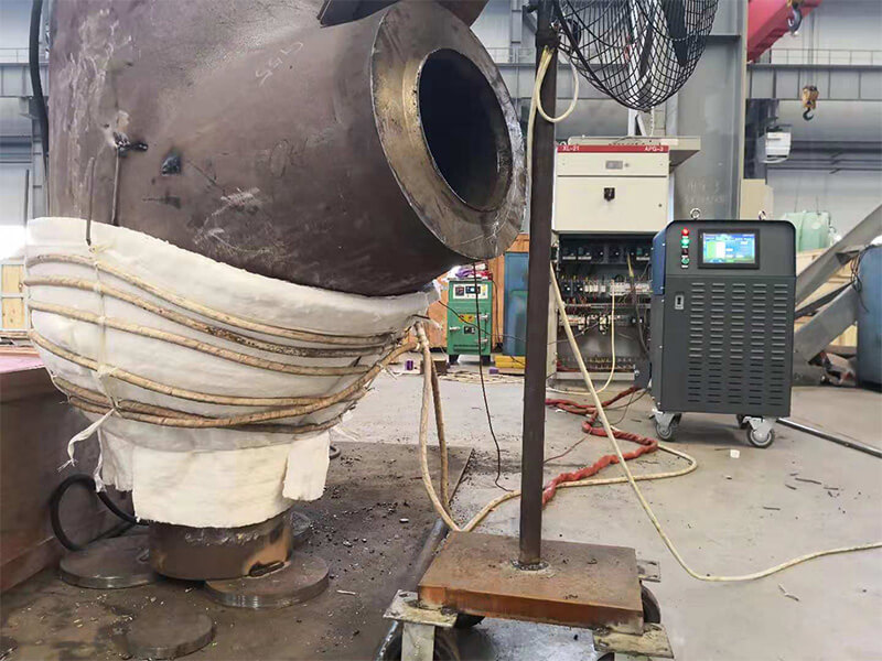 Pipe Postweld Heating Treatment PWHT Stress Reliving
