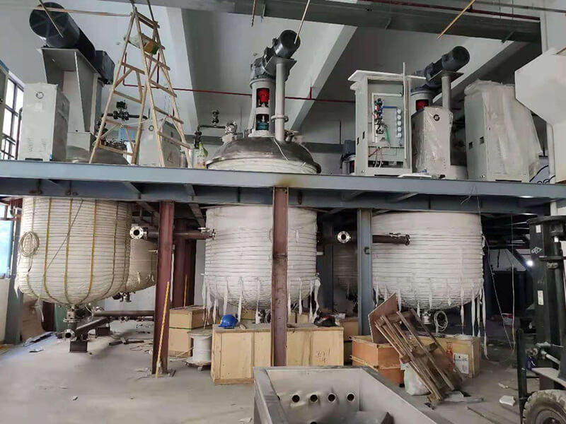 Induction Heating Machine For Reactor Heating